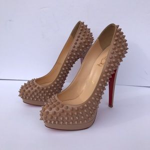 Authentic Christian louboutins size 37 1/2 shoes